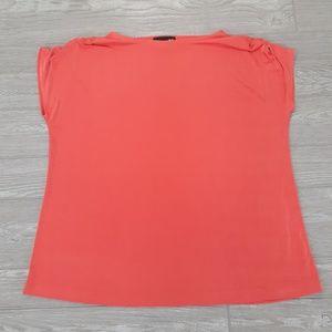 Orange CSC Studio short sleeve blouse size 1x